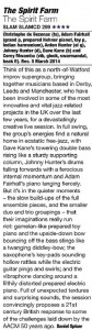 The Spirit Farm review, Jazzwise, June 2015